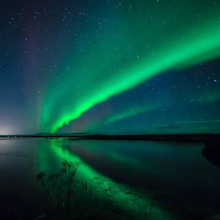 Norðurljós/Northern lights/Aurora borealis