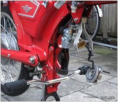 Zundapp 284 - 5 Speed Engine - 265 (Arjan N.) Tags: two engine stroke motor 50cc rebuild zundapp motorrad teardown 5speed motorräder zündapp zuendapp inspect brommer bromfiets motorfiets 284 overhaul motorblok zweiräder gts50 ks125 ks50 zvc 5gang ks100 zundappnl