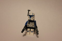 Phase 2 Captain Rex (SineX Troid) Tags: 2 army star starwars lego captain legos 501st wars custom clone rex phase 2013