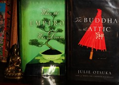 When The Emperor Was Divine / The Buddha In The Attic by Julie Otsuka (Eye8Pudding) Tags: reading book reader books read readingabook readingbooks book9 readingchallenge book8 bookchallenge 25bookchallenge julieotsuka whentheemperorwasdivine thebuddhaintheattic the25bookchallengefor2013