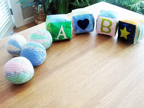 Baby blocks and balls (2012)