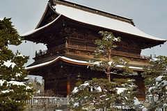 Zenko-Temple in snow (Photonard) Tags:   d600  carlzeissmp50t2zf