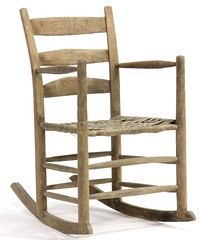 9. Western NC Antique Rocker