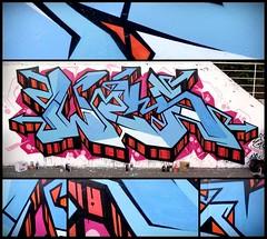 Blue steel flava (Details) !. (Wes_One) Tags: street urban streetart art wall writing painting graffiti artwork mural paint artist letters spray peinture painter writer hiphop spraypaint cans lettering graff piece aerosol wes bombing legal spraycan fresque wildstyle fatcap semiwildstyle graffitism wesone blockwild wesoner