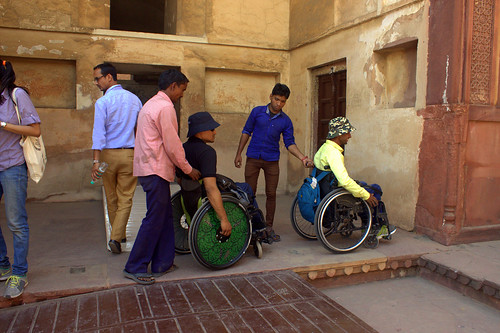 Accessible Tour to Agra:We make sure that the tour we organize is accessible to people with all disabilities.