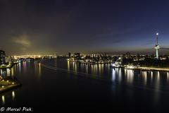 Waterweg Rotterdam - Bulb mode 6 minutes (CapMarcel) Tags: light bulb rotterdam long exposure nightshot paths mode waterweg