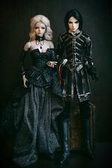 the king and the favourite (Фэйт и Брукса) (lukoshka) Tags: bjd iplehouse dollshe
