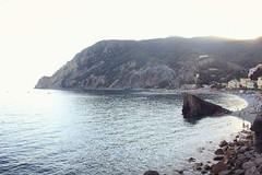 image (91elena91) Tags: landscape sea monterosso cinqueterre sunset canon photography