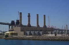 Auxiliary Power Plant at Long Beach Harbor (Robb Wilson) Tags: powerplant longbeachharbor electricity generators freephotos
