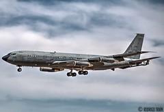 ISRAEL AIR FORCE 295 . Boeing 707. (Rodrigo Tran Corts) Tags: boeing boeing707 cisterna zaragoza spain airforce