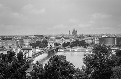 Cloudy day in Budapest (sem9077) Tags: film ilford ilforddelta contax contaxg carlzeiss planar45 black blackwhitte clouds rain d7611 europe building architecture budapest