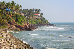Varkala beach (Sergey Mikushev) Tags: india kerala asia backgrounds bay beaches beauty blue cliff climate coastline day destinations edge foliage green horizontal idyllic indian indies indigenous land landscapes locations lush nature ocean outdoors palm relaxation resort rock sand scenics sea seascape sky summer sun tourism tourist travel tree tropical vacations varkala village water waters wave