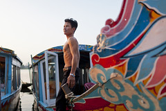 Dragon boat - Hue (Roy Del Vecchio) Tags: vietnam hue dragon boat river