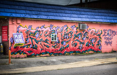 Eclipse Cafe & Market (donnieking1811) Tags: tennessee nashville cafe cafes market markets mural murals art buildings building exteriors outdoors colorful canon 60d