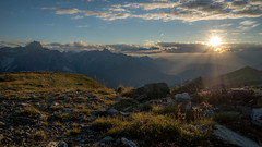 Helm and the Sexten Dolomites (ste-thomp25) Tags: alps austria italy huts sunset mountain lighting sun sky