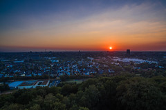 Last Day of Summer (Blende4.0) Tags: duesseldorf drone sky aerial sunset cityscape