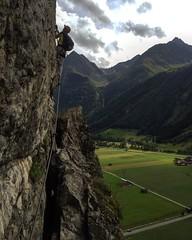 Mountaineer in Austria (mschmaal) Tags: height fun viaferrata climbing adrenaline photography outdoor klettersteige mountaineering mountaineer mountain sportphotographyoutdoorphotography climbingadrenalinesportsoutdoor mountainmountaineersaustriaalpsviaferrataklettersteigeheightfun