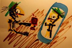 Lurchi sprach zu Salamander: Du bist heut` ganz durcheinander! (Etching Stone) Tags: lurchi salamander durcheinander today messedup rime translation sketch layout draft design handy set mobile size wine drink mirror mirrorimage reflection mind comic desk mindfulness biergarten black yellow gams chamois green toast selfie alcohol