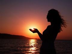 Holding the Setting Sun (yiorgosnj) Tags: sandy hook nj new jersey beach bay abigfave diamondclassphotographer blueribbonwinner theperfectphotographer supershot