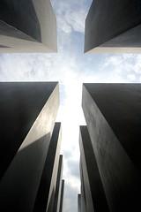 Memorial to the Murdered Jews of Europe - III (daniel_james) Tags: 2016 berlin germany europe mitte holocaustmemorial holocaustmahnmal memorialtothemurderedjewsofeurope denkmalfrdieermordetenjudeneuropas canon1022mm