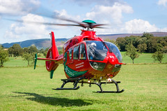 Wales Air Ambulance (benstaceyphotography) Tags: wales air ambulance service heli helicopter rescue emergency helimed rotors rotorblur nikon 50mm