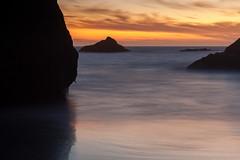 Solitude by the Sea (roe.nate) Tags: sunset landscape longexposure shore coast ocean sea pacific oregon outdoor