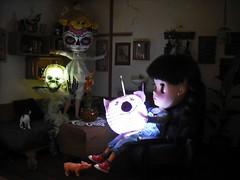 First Lanterns for Sankt Martin and Halloween