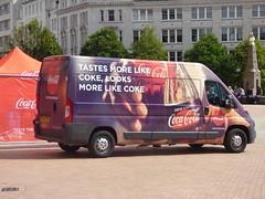 Coca Cola Zero sugar - Victoria Square, Birmingham - van - Tastes more like Coke, looks more like Coke (ell brown) Tags: victoriasquare birmingham westmidlands england unitedkingdom greatbritain cocacola cocacolazerosugar bottle van tree trees tastesmorelikecokelooksmorelikecoke waterloost