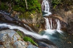Le confluent (Herv D.) Tags: rioumajou pyrnes pyrenees pirineos valledaure aure france cascade waterfall water stream aqua nets torrent