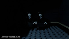 Come and play with us... (woodrowvillage) Tags: lego minifigure mini figure legos horror spooky shining overlook hotel creepy scary woodrow village films stephen king hallway blood death kill murder ghosts