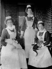 Quirindi hospital staff - Quirindi, NSW, c1905, George Kinch (State Library of New South Wales collection) Tags: statelibraryofnewsouthwales