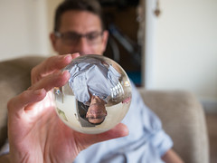 Manfred with a crystal ball (louisahennessysuou) Tags: manfred crystalball