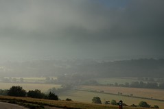 A25 in the mist (smcnally24601) Tags: box hill morning summer mist surrey hills national trust england britain early