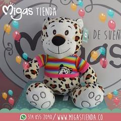 (MigasDesign) Tags: tigre peluche peluches arcoiris migas tiendadesentimiento regalos regalo