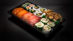 Sushis time (Nyvek67) Tags: canon 5d classic sushis fish salmon saumon cr2 flash light bokeh l