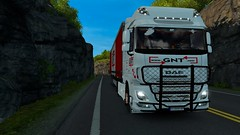 Daf e6 (christianyovchev) Tags: daf e6 ets2 ets2mp 125 white angel trip