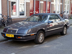 Chrysler Le Baron convertible 3,0i 1990 (a.k.a. Ardy) Tags: lxbt40 softtop