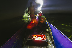 Shashlik on a boat in the middle of a lake (Ismail Atiev) Tags: rons cottage ontario back country camping camp fire relax summer nice nature