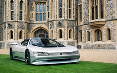 Oxia. (Alex Penfold) Tags: peugeot oxia supercars supercar concept cars car autos alex penfold windsor concours 2016 silver delegance