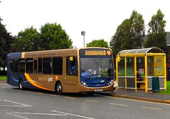 Stagecoach Gold 27259 - SN65 OCX (North West Transport Photos) Tags: stagecoach stagecoachmerseysideandsouthlancashire stagecoachmerseyside stagecoachwirral stagecoachgold adl alexanderdennis enviro enviro300 e300 e30d sn65ocx 27259 croftretailpark bromborough 2 liverpool chester bus