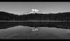 Reflection Lakes MT Rainier on Black and White (Tokina 11-16mm) (Jayesh Modha) Tags: jayeshmodha jayeshmodhaphotography reflectionlakes mtrainier mountain water blackwhite bw lake atx116prodx tokina1116mmf28dxlens