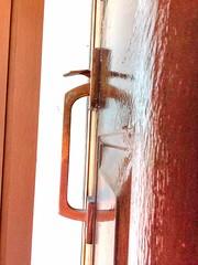 Door handle with spider (74prof) Tags: doorhandle spider hdr