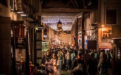 Dubai Old Souk (iSteven-ch) Tags: hdr market crowd travel eos6d uae souk canon dubai arab traditional unitedarabemirates ae