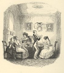 Domestic Young Gentleman (Rescued by Rover) Tags: phiz illustration dickens sketches boz victorian london scenes young gentleman lady couple domestic