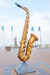 Saxy koksijde (3) (filipmije) Tags: koksijde belgium belgiancoast flandren sax dinant saxophone sculpture streetart music saxykoksijde
