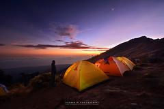 witnessed (azrudin) Tags: plawangan senaru crater rim camping basecamp mount rinjani lombok volcano