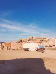 Like canyon  #sky #stone #rock #bozcaada #history #tenedos #bike #old #autumn (buseyapan) Tags: sky stone rock bozcaada history tenedos bike old autumn