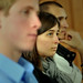 Students listen during workshop at the 2012 NC Campuses Against Hunger conference at Elon University.