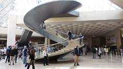 Helicoide (Miradortigre) Tags: paris france art architecture arquitectura arte louvre musee escalera museo architettura impei acceso architecte contemporanea architetto helicoide contemporaine