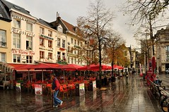 Antwerp : The Groenplaats after the rain  - 2 - (Pantchoa) Tags: rain nikon raw belgium belgique terraces belgi file antwerp ni stellaartois antwerpen cafs brasserie anvers dekoninck groenplaats d90 panoramafotogrfico pantchoa 1685f3556gedvr rememberthatmomentlevel1 magicmomentsinyourlife dekeinepost